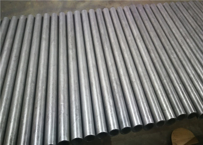 Electrolytic Zinc Welded Steel Tube , E355 Material Round Steel Tubing