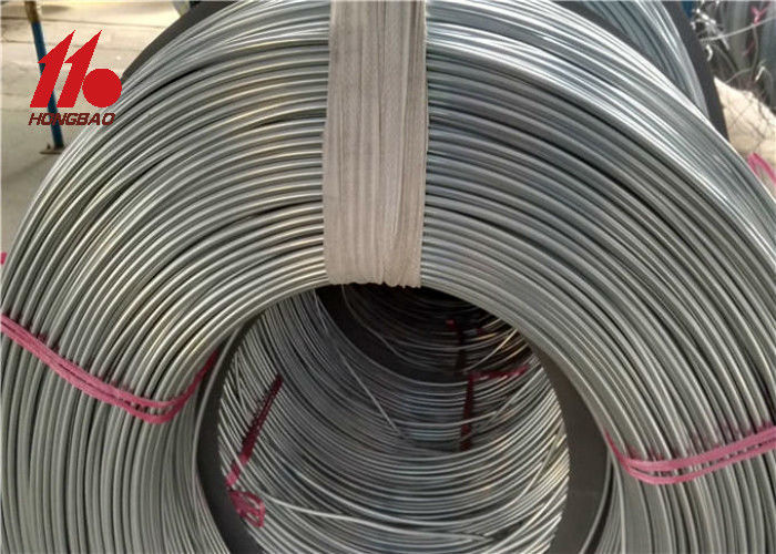 Welded Steel Bundy Tube , Low Carbon Single Wall Steel Tube Round Coil